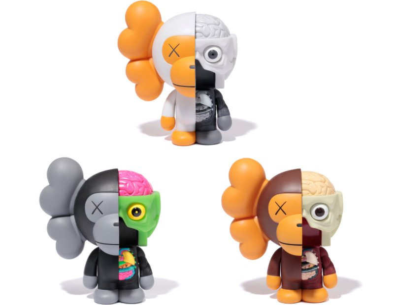 KAWS x A Bathing Ape
