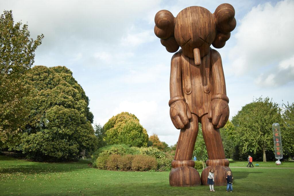 KAWS Yorkshire Sculpture Park 2016