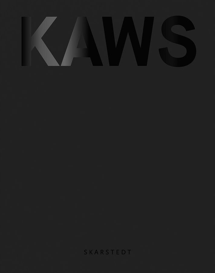 KAWS Blackout book cover