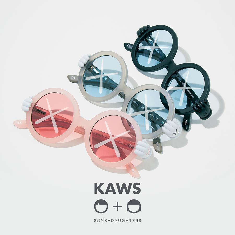 KAWS : Sons + Daughters sunglasses